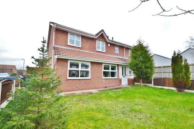 3 bed semi-detached house for sale in Gorton Street, Eccles, Manchester