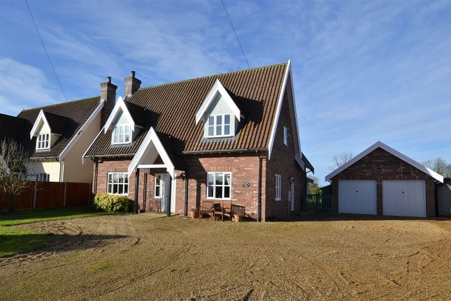Thumbnail Detached house for sale in Shop Street, Whinburgh, Dereham, Norfolk.