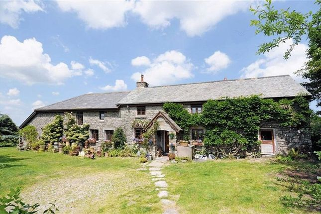 Thumbnail Country house for sale in Sampford Spiney, Yelverton