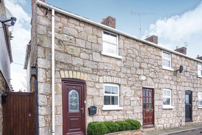 Thumbnail End terrace house for sale in Castle Street, Rhuddlan, Rhyl