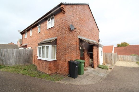 Thumbnail Terraced house to rent in Mayberry Avenue, Redhill, Hereford