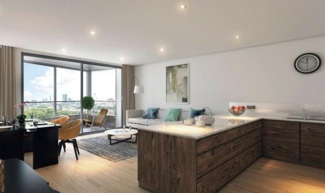 Thumbnail Flat for sale in Camley Street, King's Cross, London