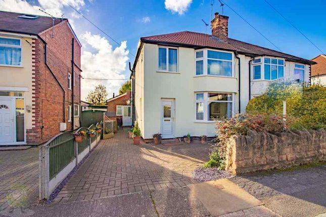 Thumbnail Semi-detached house for sale in Heathfield Grove, Beeston, Nottingham