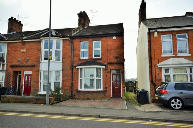 Thumbnail End terrace house to rent in Godinton Road, Ashford