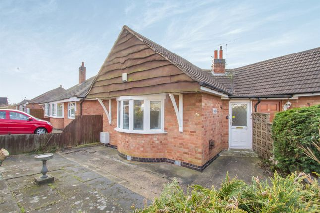 Thumbnail Semi-detached bungalow for sale in Brooksby Drive, Oadby, Leicester