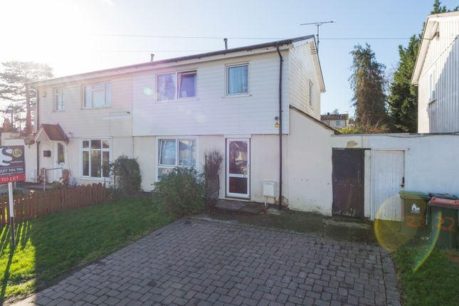 Thumbnail Property to rent in Beckett Avenue, Canterbury