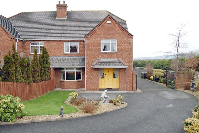 Thumbnail Semi-detached house for sale in 39 Headford, Mount Avenue, Dundalk, Louth