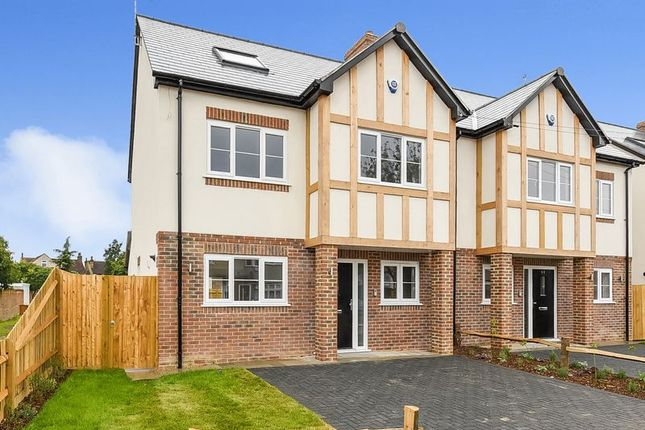 Thumbnail Semi-detached house for sale in Annandale Road, Sidcup