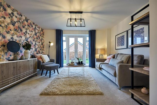"""Thumbnail Semi-detached house for sale in """"The Canford - Plot 141"""" at Daventry Road, Southam"""