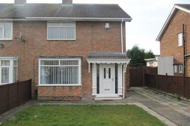 Thumbnail Semi-detached house to rent in Coleridge Gardens, Darlington