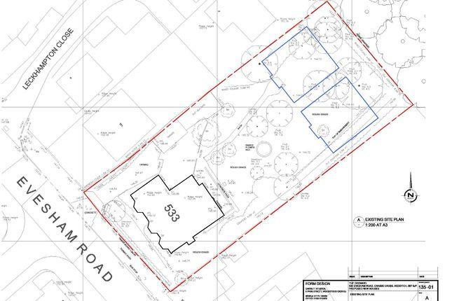 Thumbnail Land for sale in Evesham Road, Redditch
