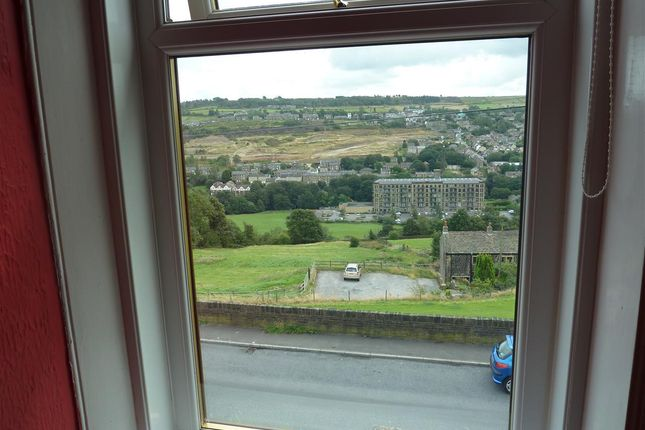View From Window of Radcliffe Road, Wellhouse, Huddersfield HD7