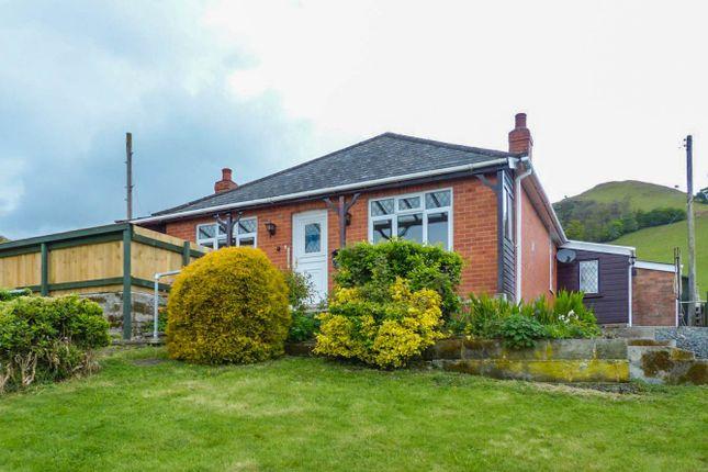 Thumbnail Detached bungalow to rent in Llanfaredd, Builth Wells