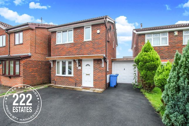 Thumbnail Detached house for sale in Vincent Close, Old Hall, Warrington