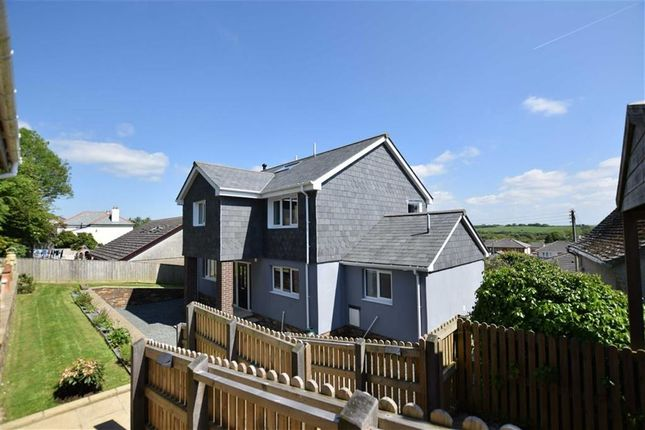 4 bed detached house for sale in Canal Rise, Bridgerule, Holsworthy