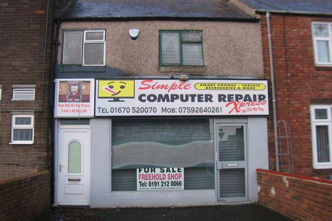 Thumbnail Retail premises for sale in North Seaton Road, Ashington