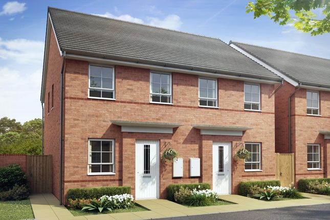 "Thumbnail Semi-detached house for sale in ""Richmond"" at Waterloo Road, Hanley, Stoke-On-Trent"