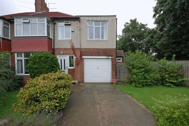 Thumbnail Semi-detached house for sale in The Oval, Benton, Newcastle Upon Tyne