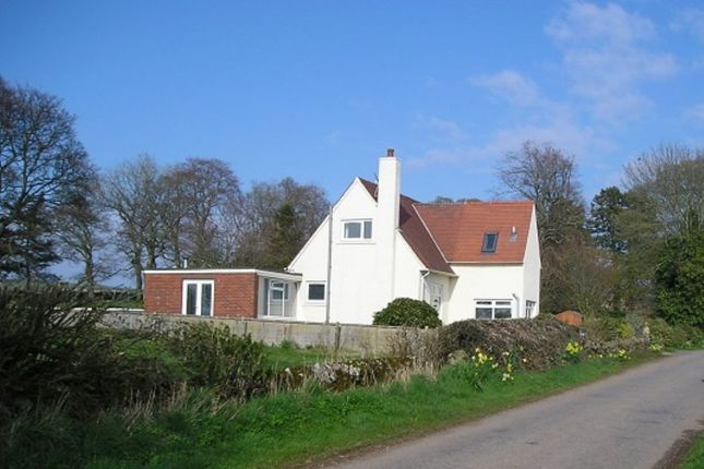Thumbnail Detached house for sale in Inverkeilor, Arbroath