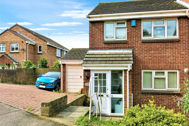 Thumbnail Semi-detached house to rent in Harrier Drive, Sittingbourne, Kent