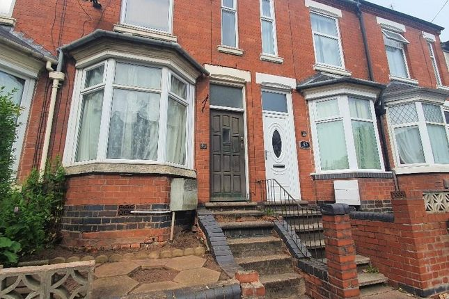Thumbnail Terraced house for sale in Harefield Road, Stoke, Coventry