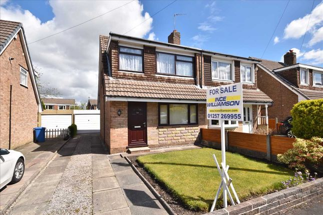 3 bed semi-detached house for sale in Harrock Road, Clayton Le Woods, Chorley PR25