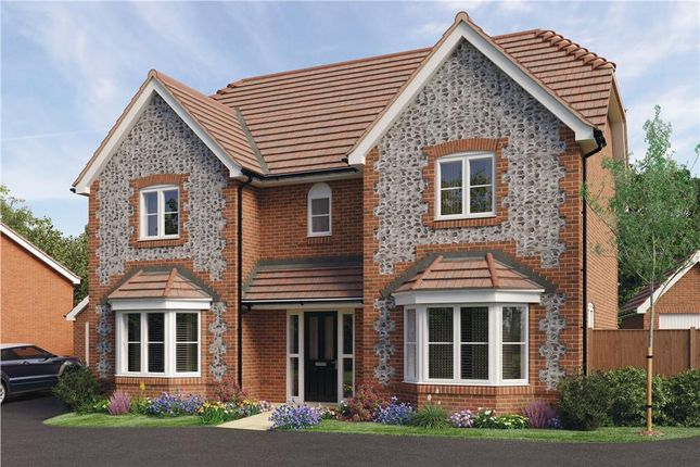 "Thumbnail Detached house for sale in ""Thames"" at Worthing Road, Southwater, Horsham"