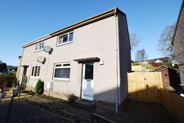 Thumbnail Semi-detached house for sale in Darach Road, Pitlochry