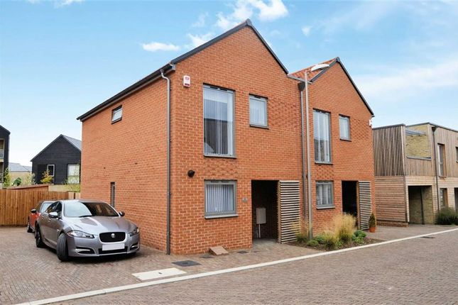 Thumbnail Semi-detached house for sale in Hanley Lane, Newhall, Harlow