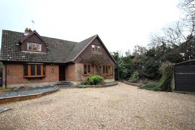 Thumbnail Detached house for sale in Reading Road, Darby Green, Camberley