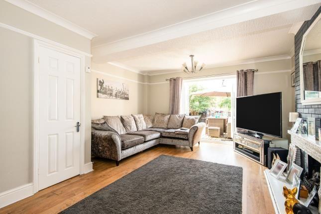 Lounge of Ashby Avenue, Chessington, Surrey, . KT9