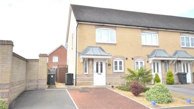 Thumbnail End terrace house for sale in Wiltshire Crescent, Basingstoke, Hampshire
