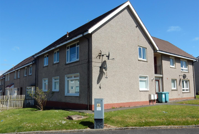 Thumbnail Flat to rent in Grange Avenue, Wishaw