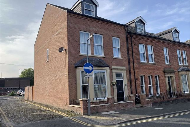 Thumbnail Town house for sale in Compton Street, Carlisle, Carlisle