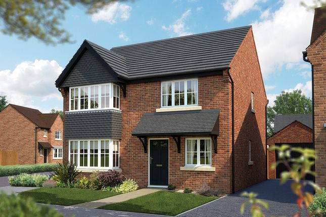 "Thumbnail Detached house for sale in ""The Canterbury"" at Burton Road, Streethay, Lichfield"