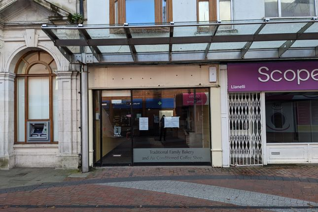 Thumbnail Restaurant/cafe to let in Stepney Street, Llanelli