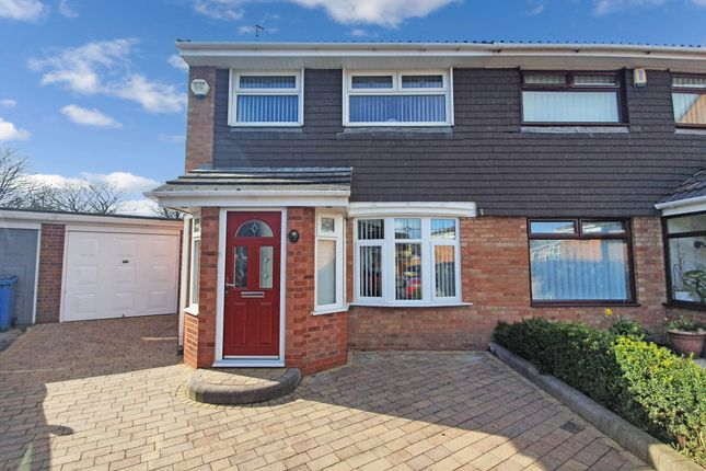 Thumbnail Semi-detached house to rent in Palm Close, Liverpool, Merseyside