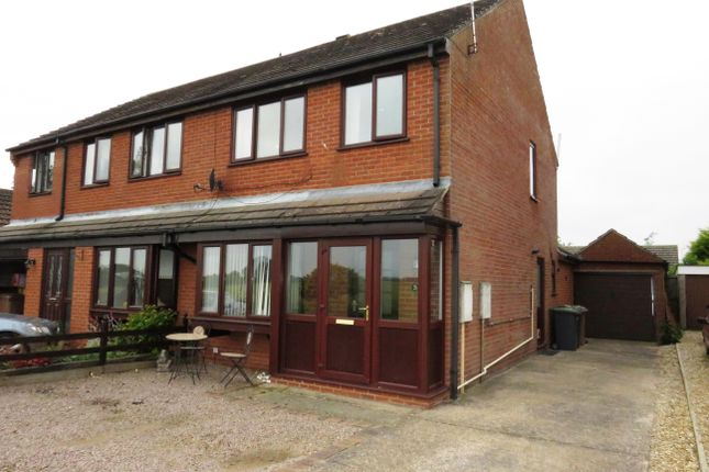 Thumbnail Semi-detached house to rent in Leas Road, Great Hale, Sleaford