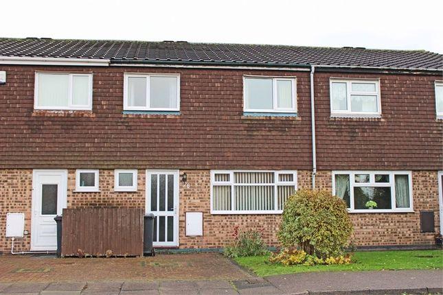 Thumbnail Terraced house for sale in Barnbridge, Kettlebrook, Tamworth, Staffordshire
