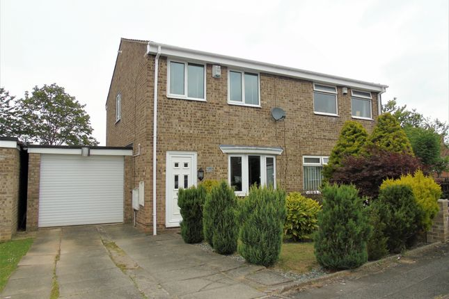 Thumbnail Semi-detached house to rent in Hollowfield, Coulby Newham, Middlesbrough
