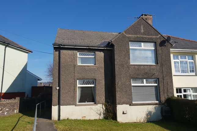Thumbnail Semi-detached house for sale in The Drive, Gilfach, Bargoed