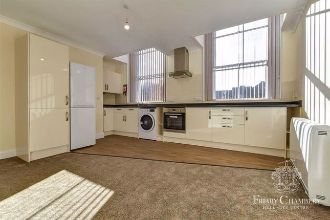 Thumbnail Flat to rent in Whitefriargate, Hull