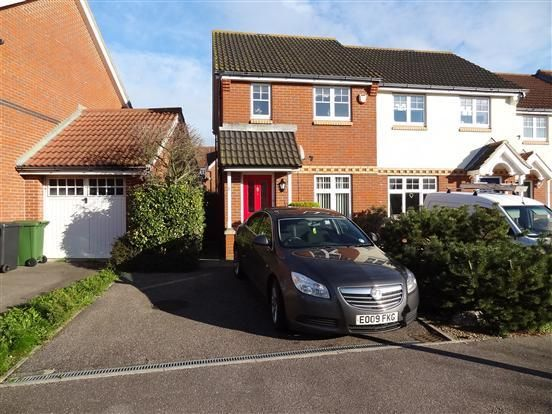 Thumbnail 2 bed semi-detached house for sale in Pitcairn Avenue, Sovereign Harbour
