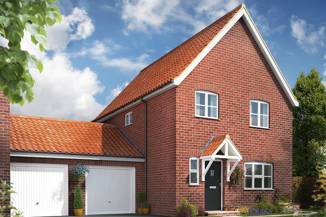 Thumbnail Semi-detached house for sale in The Ellingham, Norwich Road, Watton
