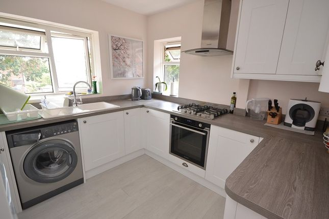 Kitchen of Reynolds Avenue, Chessington, Surrey. KT9
