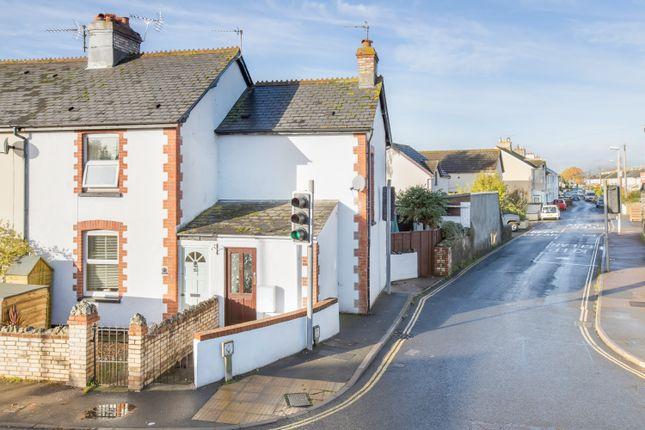 Thumbnail End terrace house for sale in Exeter Road, Kingsteignton, Newton Abbot