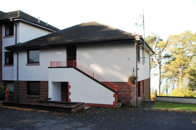 Thumbnail Flat to rent in Highfield Court, Skelmorlie