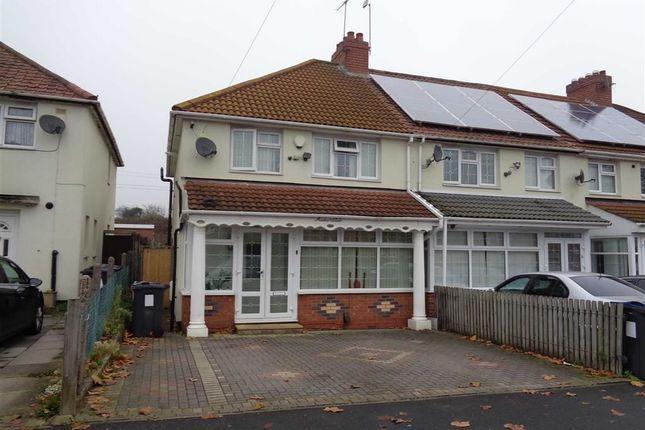 Thumbnail End terrace house for sale in Caldwell Road, Bordesley Green, Birmingham
