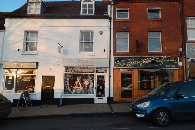 Thumbnail Retail premises to let in 59 Tamworth Street, Lichfield