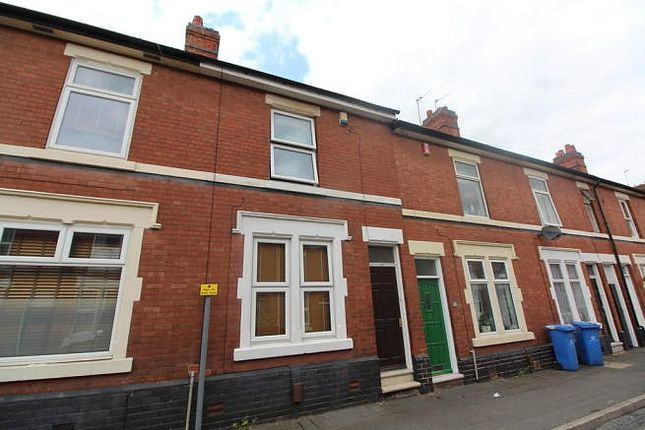 Thumbnail Terraced house to rent in Pybus Street, Derby